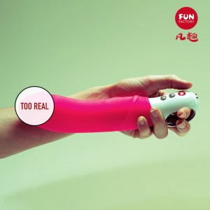Original German Import Fun Factory Fun Fun Devil Five Generations G5 Appeal Simulation Penis Female Vibrator Vibration Orgasm Masturbation Device (Pink)